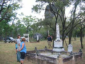 the Chillagoe cemetary